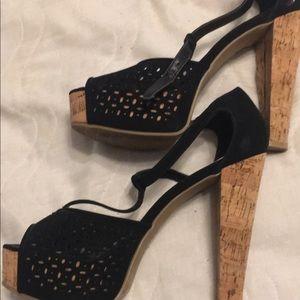 Bamboo brand heels. Worn once
